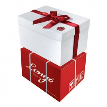MAGICA NORMAL - Embossed box with satin ribbon - 34x26x20 cm