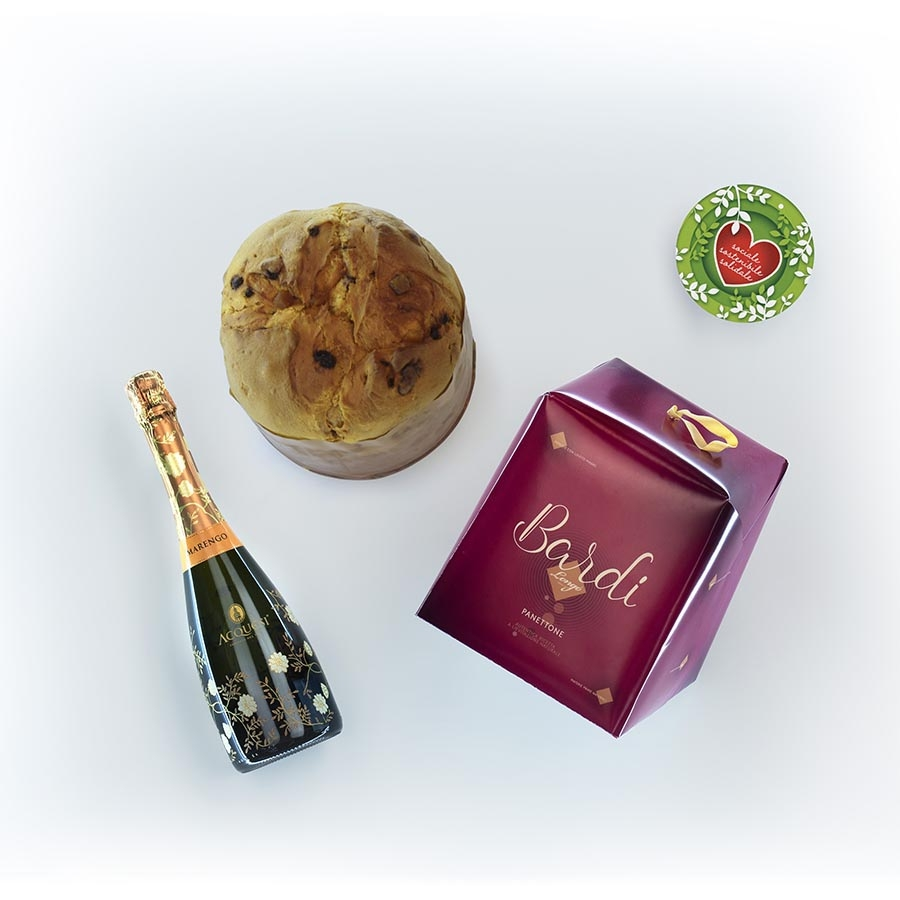 Panettone Bardi & Gourmet Italian Food Gift Baskets: Panettone settecinquanta / chilo
