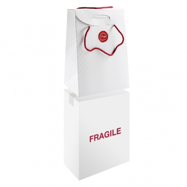 SHOPPER BAG MEDIUM Goffrato con Maniglie - 33x25x35 cm