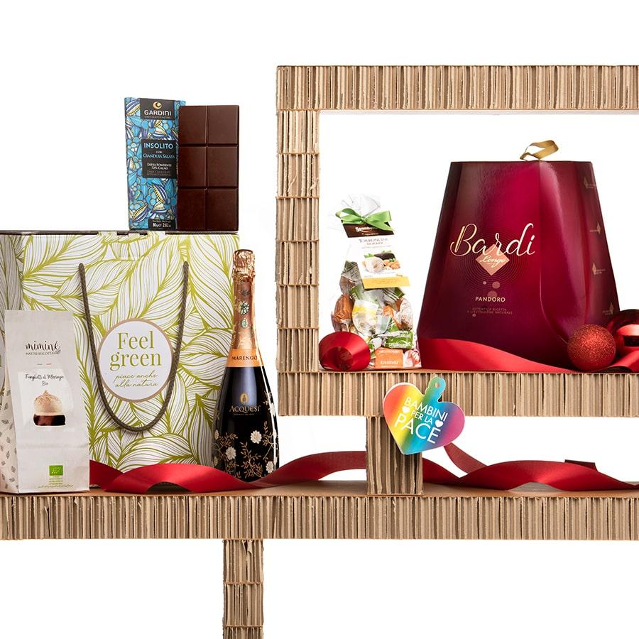 Panettone Bardi & Gourmet Italian Food Gift Baskets: Natale Italiano