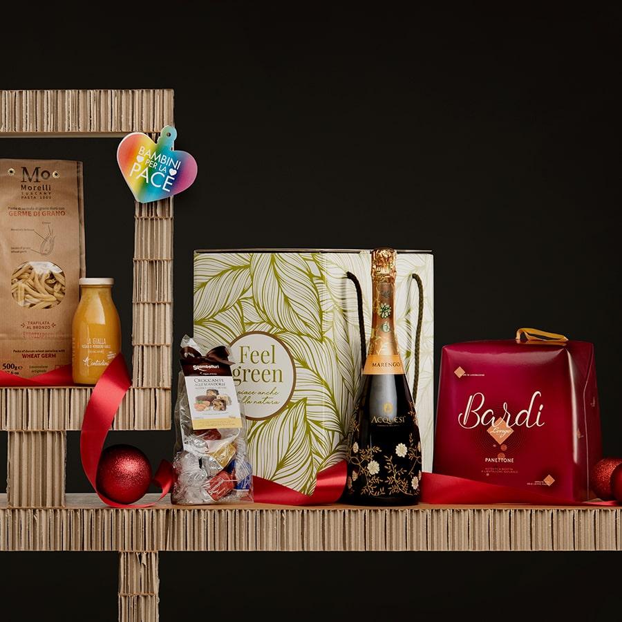 Panettone Bardi & Gourmet Italian Food Gift Baskets: Sapori Rustici