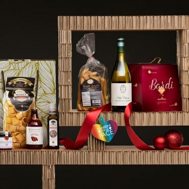 Panettone Bardi & Gourmet Italian Food Gift Baskets: La Borsa della Spesa