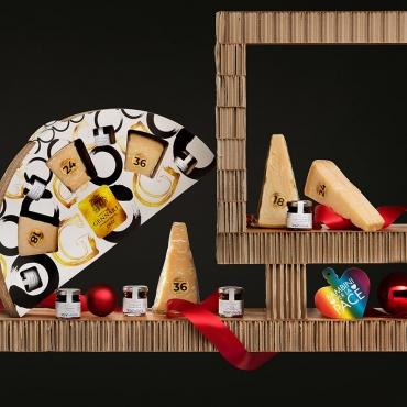 Panettone Bardi & Gourmet Italian Food Gift Baskets: Sapori Intensi