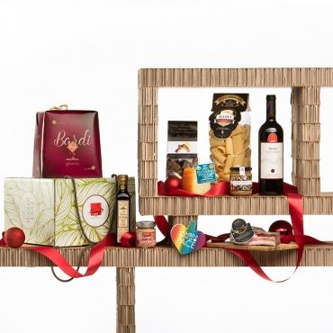 Panettone Bardi & Gourmet Italian Food Gift Baskets: Terra Nostra