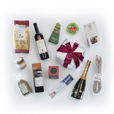 Panettone Bardi & Gourmet Italian Food Gift Baskets: Gusti Diversi