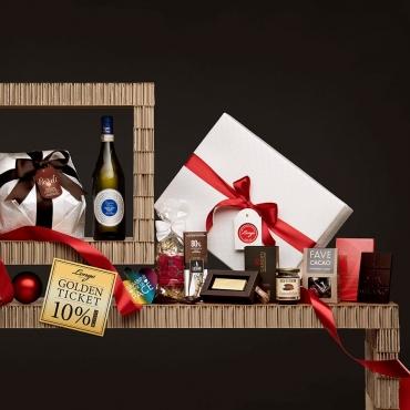 Panettone Bardi & Gourmet Italian Food Gift Baskets: Tesori Segreti