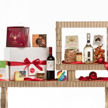 Panettone Bardi & Gourmet Italian Food Gift Baskets: Sidus con Altre Storie