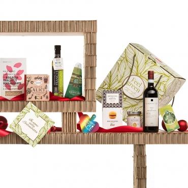 Panettone Bardi & Gourmet Italian Food Gift Baskets: Attimi di Festa