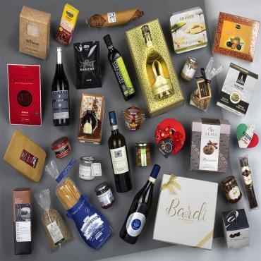 Panettone Bardi & Gourmet Italian Food Gift Baskets: Sontuoso