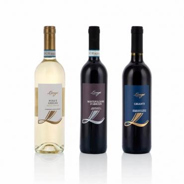 Italian Wine Gift Baskets: Tre regioni a confronto