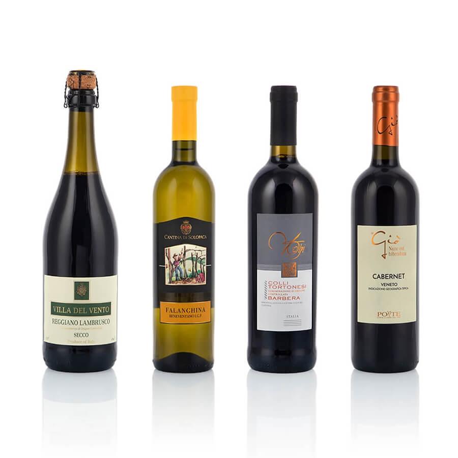 Italian Wine Gift Baskets: Vitigni in Primo Piano