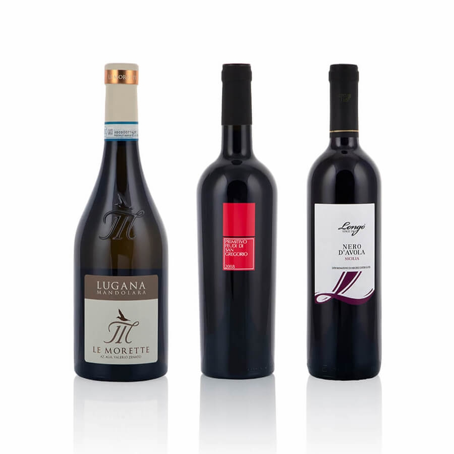 Confezioni Vino: da Sud a Est