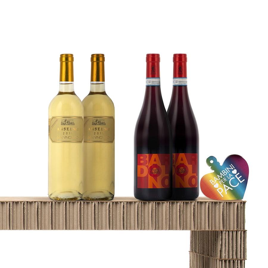 Italian Wine Gift Baskets: Pianirossi