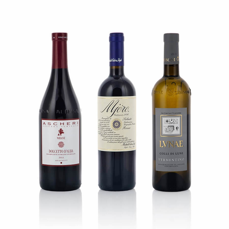 Confezioni Vino: Sfumature di Colore