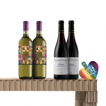 Italian Wine Gift Baskets: Sfumature di Colore