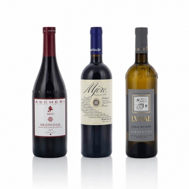 Italian Wine Gift Baskets: Sfumature di Colore