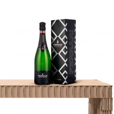 Champagne & Sparkling Wine Gift Basket: Trento Doc Maximum