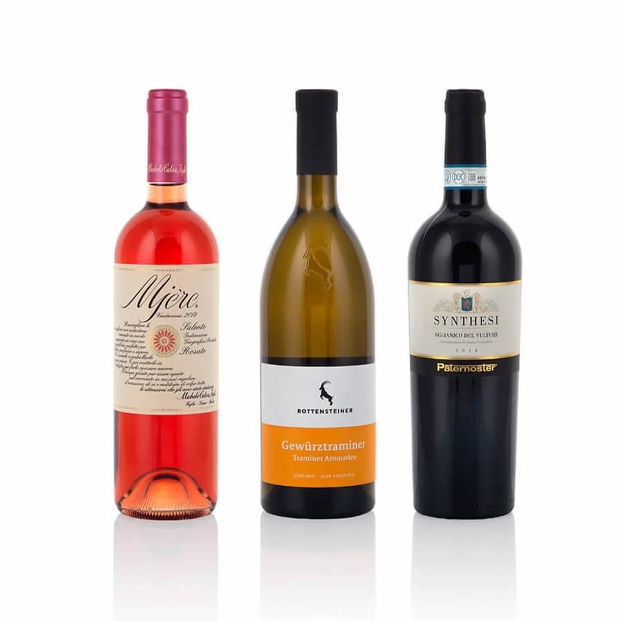 Confezione Regalo per Natale da 6 Bottiglie di Vini: Sfumature di Gusto