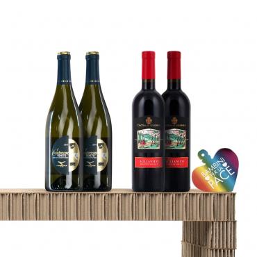 Italian Wine Gift Baskets: Rossi Importanti