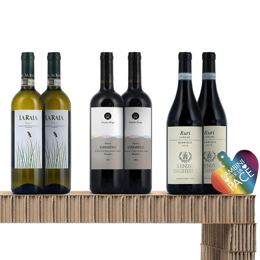 Confezioni Vino: Identità Regionali