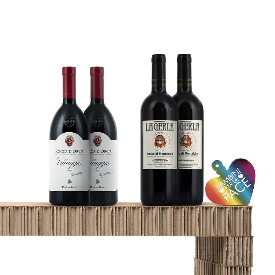 Italian Wine Gift Baskets: Primi Attori