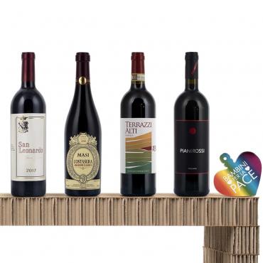 Vini, Spumanti e Champagne Natale: Confezione di Brunello, Amarone e San Leonardo