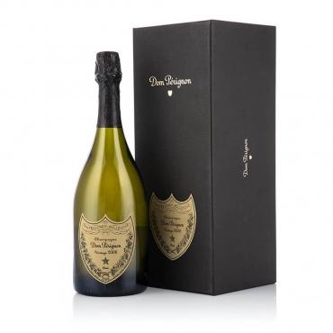 Champagne & Sparkling Wine Gift Basket: Champagne brut DOM PÉRIGNON