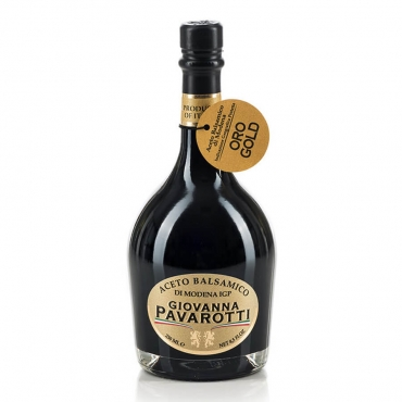 """Aceto Balsamico di Modena IGP sigillo Oro """"Giovanna Pavarotti"""""""