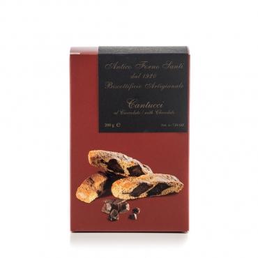 Cantucci con scaglie di cioccolato fondente Antico Forno Santi