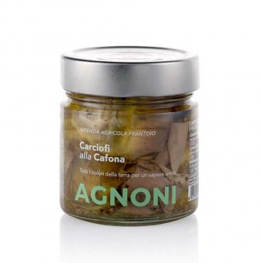 Carciofi alla Cafona in Olio Extravergine di Oliva Agnoni g 210