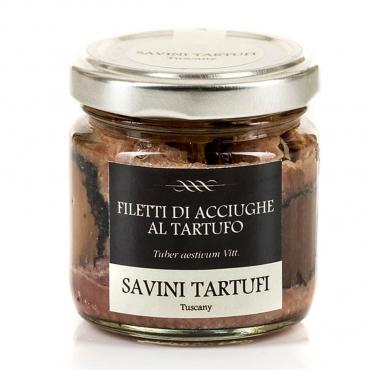 Filetti di Acciughe al Tartufo Savini Tartufi g 100