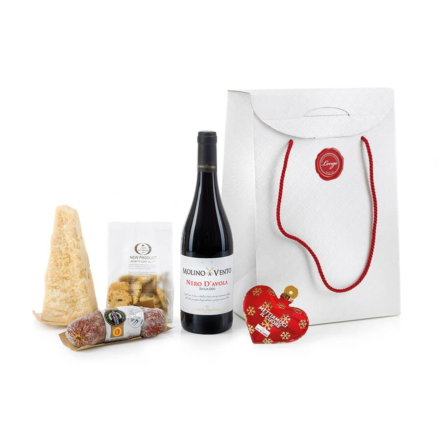 Italian Food Gift Basket: Due Grandi