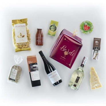 Panettone Bardi & Gourmet Italian Food Gift Baskets: Sezione a impatto Zero