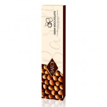 Gran Nocciolato – Cioccolato Gianduia al Latte e Nocciole Intere  Bardi g 250