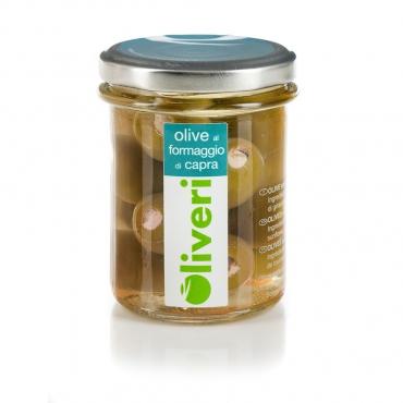 Olive Ripiene con Formaggio di Capra Oliveri g 180