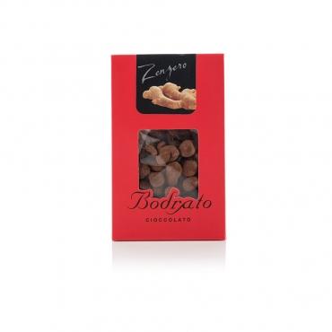 Zenzero Ricoperto di Cioccolato Fondente Bodrato g 150