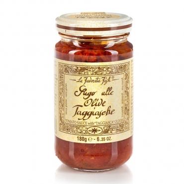 Sugo alle Olive Taggiasche La Favorita g 180