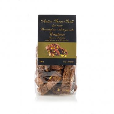 Cantucci Cacao e Pistacchio Antico Forno Santi g 200