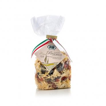 Puttanesca - Spezie per condimento pasta (Cipolla, Pomodoro, Aglio, Prezzemolo, Olive e Capperi) g 70