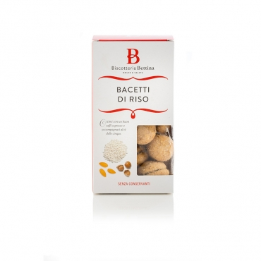 Bacetto di Riso gusto Biscotteria Bettina g 170