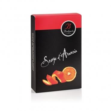 Scorze di Arancia Candite con Cioccolato Fondente g 50