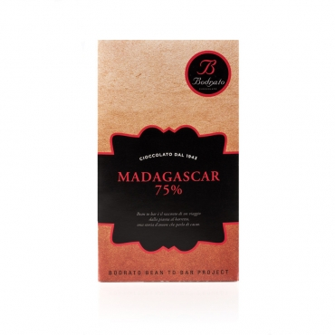 Tavoletta Monorigine Bean to Bar Madagascar 75% g 50