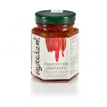 Confettura di Peperoni, Mele e Peperoncino Alajmo g 120
