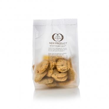 Mini Crakers Cipolle e Olive Terre di Puglia g 150