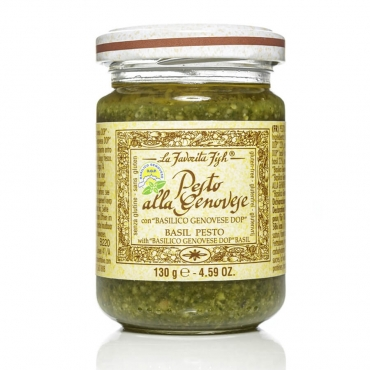 Pesto alla Genovese Gluten Free  La Favorita g 130