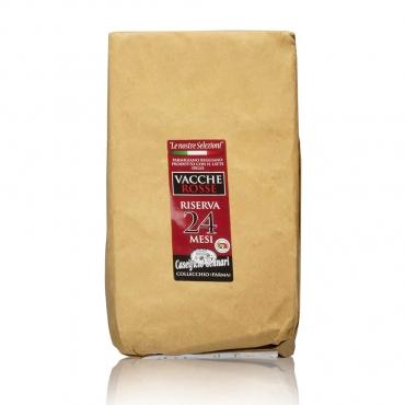 Parmigiano Reggiano Vacche Rosse (24 mesi di stagionatura) Caseificio Gennari kg 1 circa