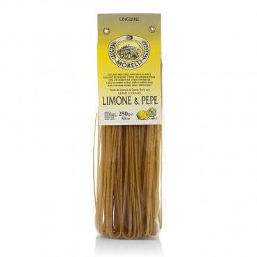 Pasta Linguine Limone e Pepe Pastificio Morelli g 250