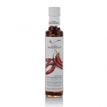 Condimento con Olio Extravergine d'Oliva al Peperoncino Terre Francescane cl 25