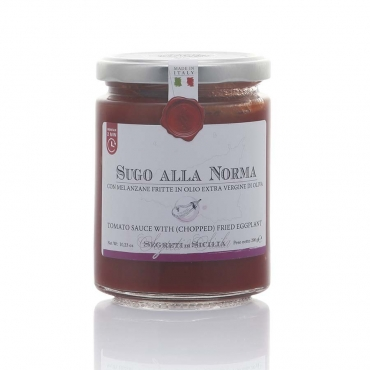 Tomato sauce with fried eggplant - Segreti di Sicilia