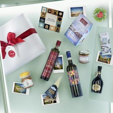 Cesto natalizio Città d'Arte e prodotti Tipici